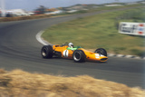 Denny Hulme, Dutch Grand Prix, Zandvoort, 1968 Photographic Print