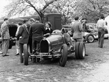 Bugatti Type 35B at Prescott, Gloucestershire, 1954 Photographic Print
