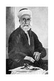 Ali Bin Hussein (1879-193), First King of Hejaz (Al-Hija), Saudi Arabia, 1922 Giclee Print