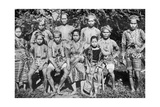 Philippine Islanders in Fete-Day Costume, 1926 Giclee Print