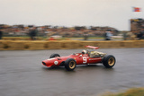 Chris Amon in a Ferrari V12, Dutch Grand Prix, Zandvoort, 1968 Photographic Print