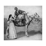 Gaucho Sweethearts Exchange Mate Cups, Argentina, 1922 Giclee Print