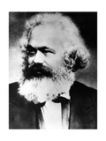 Karl Marx, German Political, Social and Economic Theorist, Late 19th Century Giclee Print