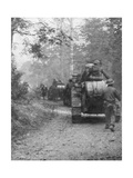 Americans Preparing for the Attack on the Argonne Forest, Verdun, France, September, 1918 Giclee Print