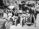Scene During Practice for the Monaco Grand Prix, 1929 Photographic Print