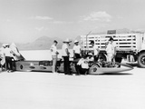 Goldenrod' Land Speed Record Car, Bonneville Salt Flats, Utah, USA, 1965 Photographic Print