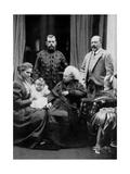 Russian and British Royal Families at Balmoral, Scotland, 29th September 1896 Reproduction procédé giclée par W&d Downey