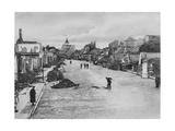 A Street in Ortelsburg, Eastern Prussia, World War I, August 1915 Giclee Print