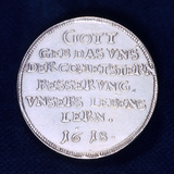 Reverse of a Medal Commemorating the Brilliant Comet of November 1618 Photographic Print