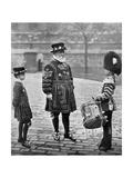 Sergeant-Major Patrick Penrose, the Yeoman Porter, London, 1896 Giclee Print