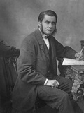 Thomas Henry Huxley, British Biologist, 1866 Photographic Print