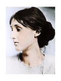 Virginia Woolf, English Novelist, Essayist and Critic, Early 20th Century Giclee Print