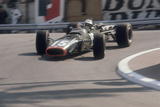 Brm of Dickie Attwood Entering a Corner, Monaco Grand Prix, 1968 Photographic Print