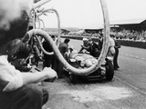 Delahaye 175S in the Pits, Le Mans, France, 1951 Photographic Print
