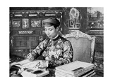 Emperor Khai Dinh (1885-192), 12th Emperor of the Nguyen Dynasty, Annam, Vietnam, 1922 Giclee Print