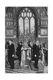 King George V Lying in State, Church of St Mary Magdalene, Sandringham, Norfolk, January 1936 Giclee Print