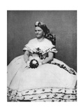 Mary Todd Lincoln, Wife of President Abraham Lincoln, C1860S Giclee Print