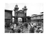 The Market Place, Port-Au-Prince, Haiti, 1926 Giclee Print