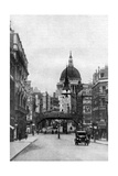 St Paul's Cathedral from Fleet Street on a Sunday, London, C1930S Giclee Print