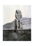 Colossi of Memnon, Thebes, Egypt, 1852 Giclee Print