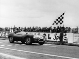 Ken Wharton in a Jaguar D Type, Rheims 12 Hours Race, France, 3rd July 1954 Photographic Print
