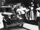 The Blessing of Cars, City of London, C1930 Photographic Print
