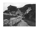 Michael Bruce's Cottage, Kinnesswood, Kinross, Scotland, 1924-1926 Giclee Print by  Valentine & Sons