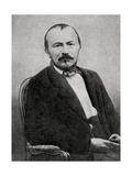 Gerard De Nerval, French Poet, 1855 Giclee Print