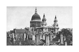 St Paul's Cathedral, London, 1924-1926 Giclee Print