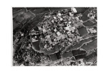 Aerial View of the Heights around Jerusalem, Palestine, from a Zeppelin, 1931 Giclee Print