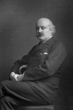 Sir Charles Hubert Hastings Parry (1848-191), English Composer, 1893 Photographic Print by W&d Downey