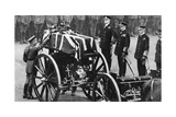 King George V Places a Wreath on the Coffin of an Unknown Soldier, Whitehall, London, C1930S Giclee Print