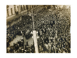 Funeral Procession of the Poet Valery Bryusov, Moscow, USSR, 12 October 1924 Giclee Print