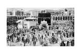 Mecca's Great Mosque, Mecca, Saudi Arabia, 1922 Giclee Print