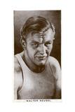 Walter Neusel, German Boxer, 1938 Giclee Print