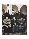 Yalta Conference of Allied Leaders, World War II, 4-11 February 1945 Giclee Print