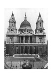 St Paul's Cathedral, London, 1926 Giclee Print