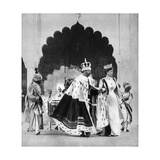 George V and Queen Mary in Delhi, India, 1911 Giclee Print