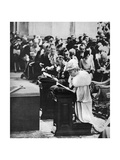 King George V and Queen Mary in St Paul's Cathedral, Silver Jubilee Thanksgiving Service, 1935 Giclee Print