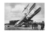 A British Vickers Vimy Biplane, Crashed South-West of Lille, France, World War I, 1917 Giclee Print