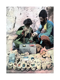 Spice Seller, Royal Palace, Tehran, C1890 Giclee Print
