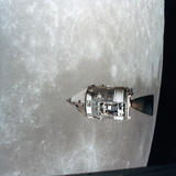 The Apollo 15 Command and Service Modules in Lunar Orbit, 1971 Photographic Print