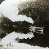 Steam Yacht on Loch Katrine, Scotland Photographic Print
