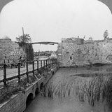 14th Century Ramparts and Lille Gate, Ypres, Belgium, World War I, C1914-C1918 Photographic Print