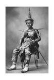 King Sisowath of Cambodia, 1922 Giclee Print