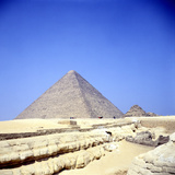 Pyramid at Giza, Egypt, Old Kingdom, C26th Century Bc Photographic Print