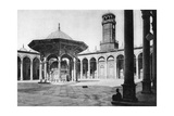 The Courtyard of the Mosque of Muhammad Ali at the Saladin Citadel, Cairo, Egypt, C1920s Giclee Print