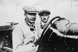 Felice Nazzaro in a 2000 Cc Fiat 804, 1922 Photographic Print