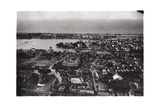 Aerial View of Recife, Brazil, from a Zeppelin, 1930 Giclee Print