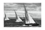 Six Metre R Class Sailing, Berlin Olympics, 1936 Giclee Print